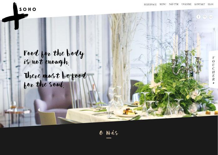 SOHO restaurant and lounge