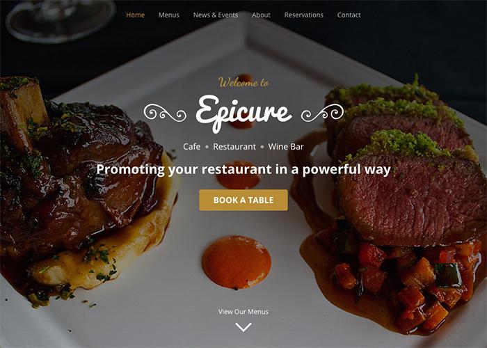Epicure - Designed for Restaurants