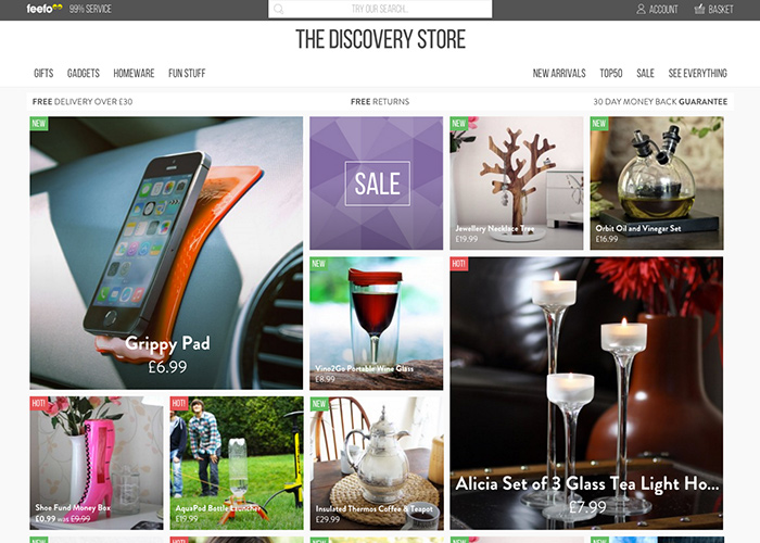 The Discovery Store