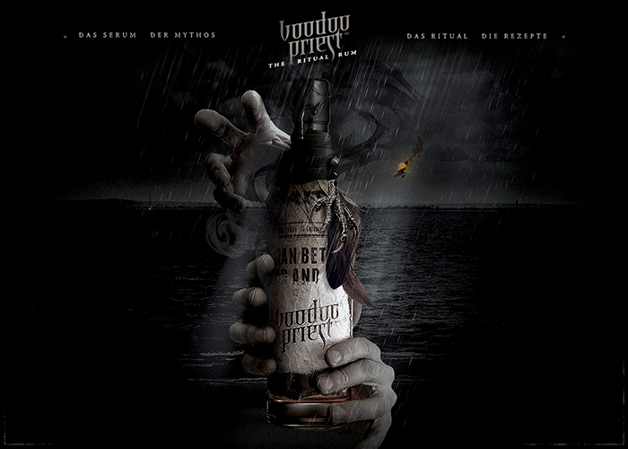Voodoo Priest™ | The World's first Ritual Rum  - Awwwards