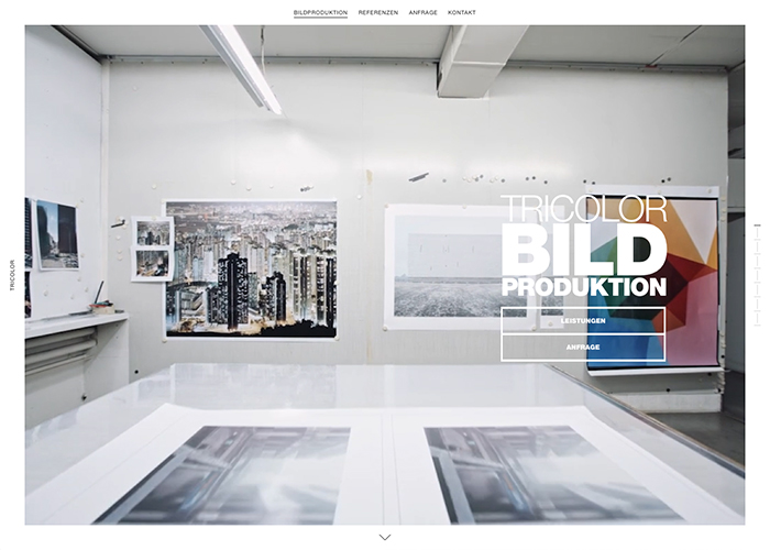 Tricolor - Image Production