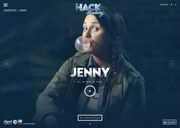 Hack Academy - Awwwards SOTD