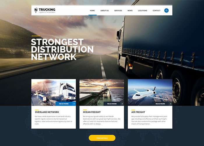 Trucking - Transportation & Logistics