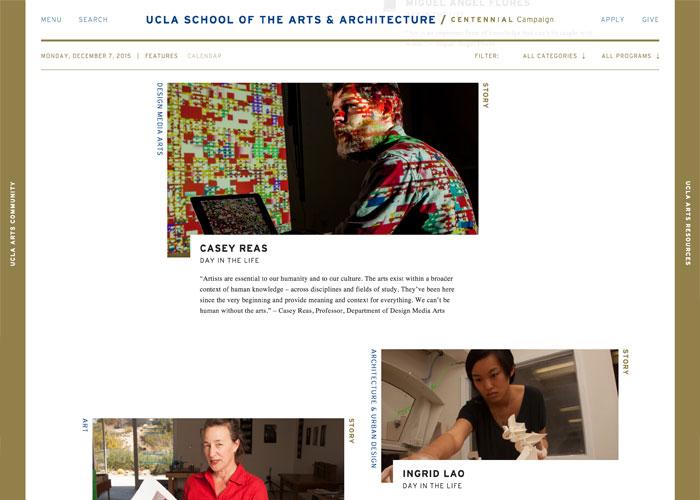 UCLA School Of The Arts U0026 Architecture