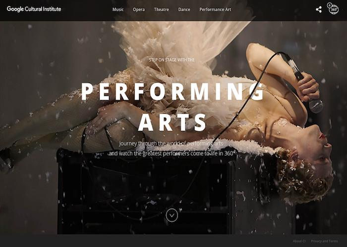 Google - Performing Arts