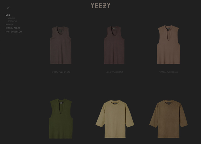 online store f9aa9 bf037 Yeezy Supply - Awwwards Nominee