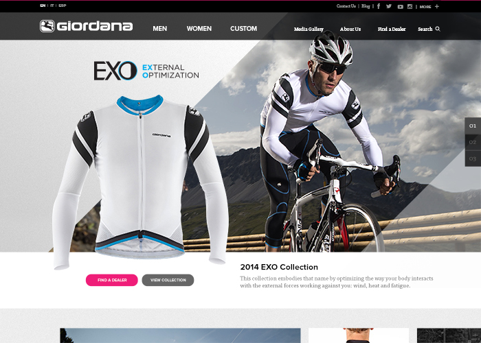 Giordana Cycling - Awwwards Nominee 0f3c2af60