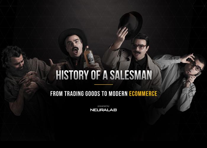 0c20d9167bda History of a salesman - Awwwards Nominee