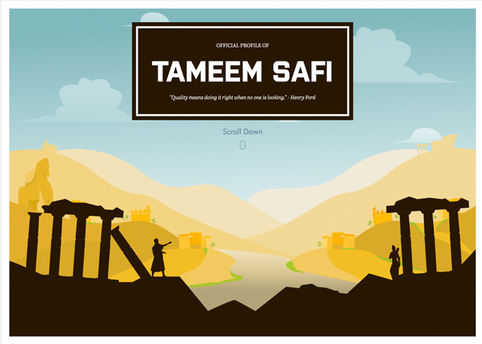 Tameem Safi - Official Website