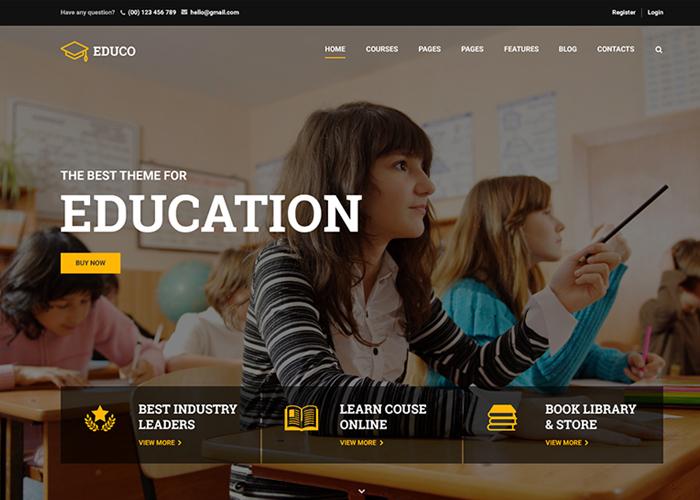 Education WP Theme - Eduma