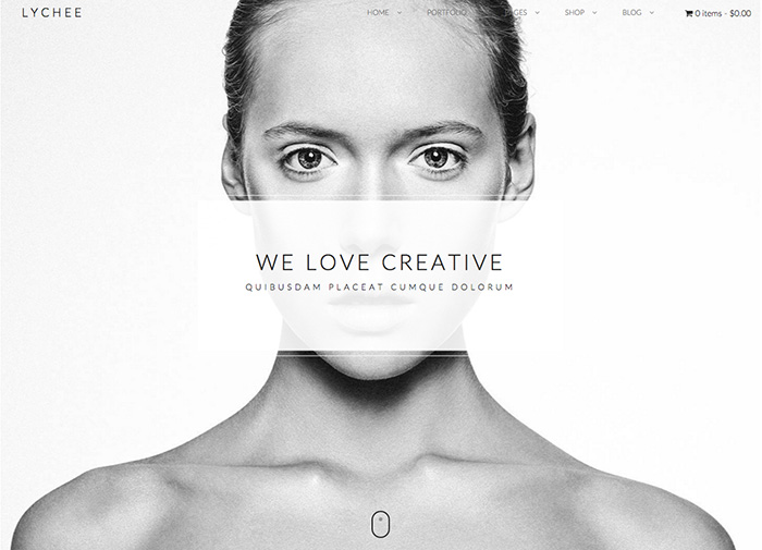 Lychee - Clean Portfolio Theme