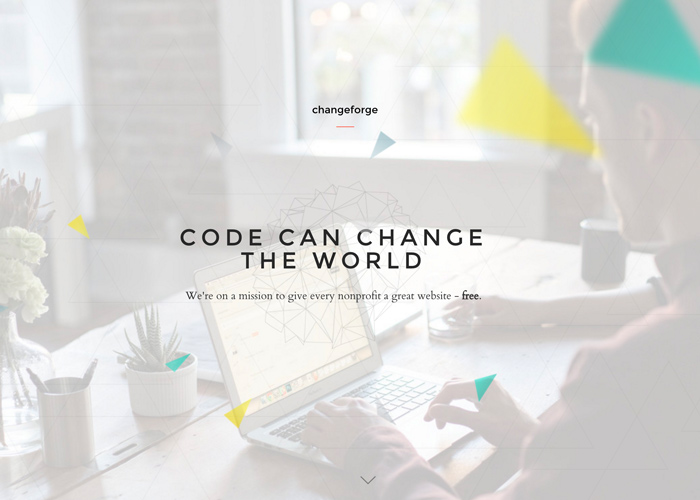 Changeforge - Free handcrafted sites for nonprofits