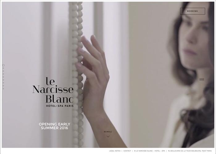 Le Narcisse Blanc - Hotel - Spa - Awwwards Nominee