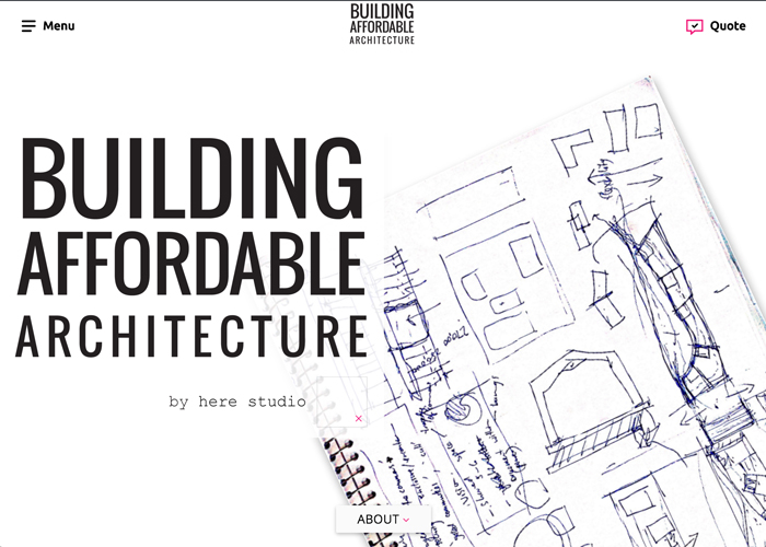 Building Affordable Architecture