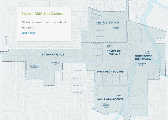 Destination Medical Center Maps