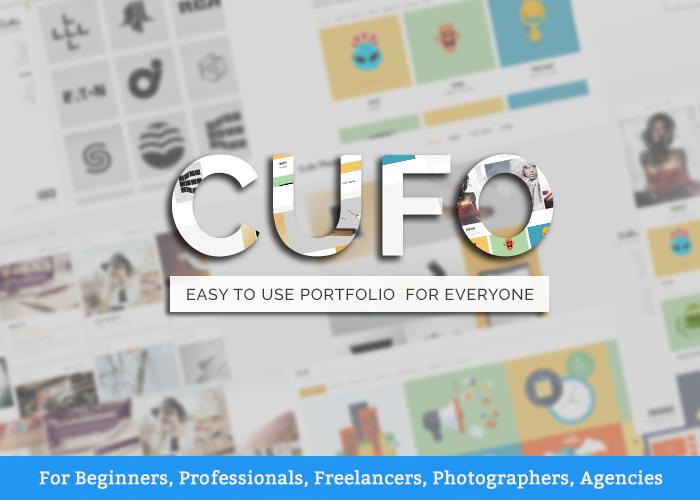 Cufo - Wordpress Portfolio Theme - Awwwards Nominee