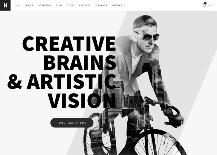 Heli - a Creative Minimal WP