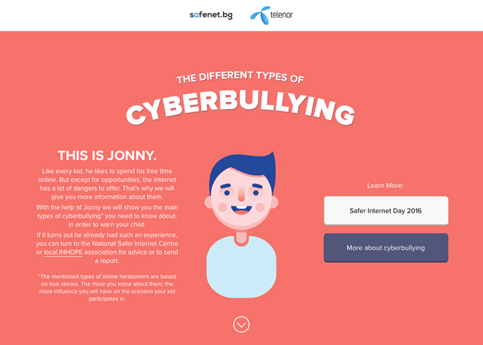Guide To The Types Of Cyberbullying Awwwards Nominee