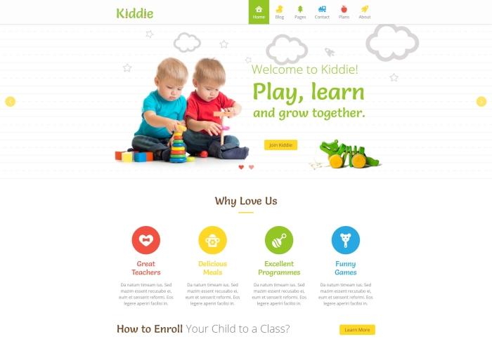 Kiddie - Kidergarten WordPress