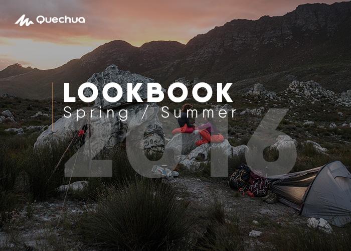 Quechua Lookbook Spring Summer 2016