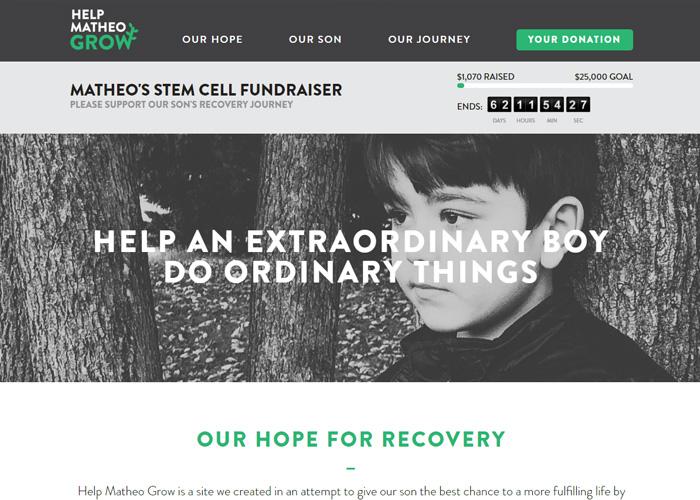 Matheo's Stem Cell Treatment Fundraiser