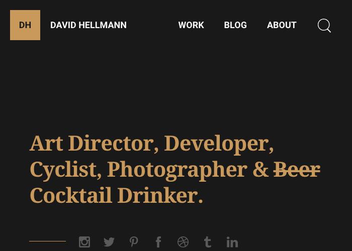 David Hellmann — Designer & Developer