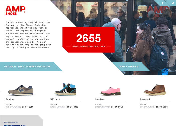 Amp Shoes For Diabetes Uk Awwwards Nominee