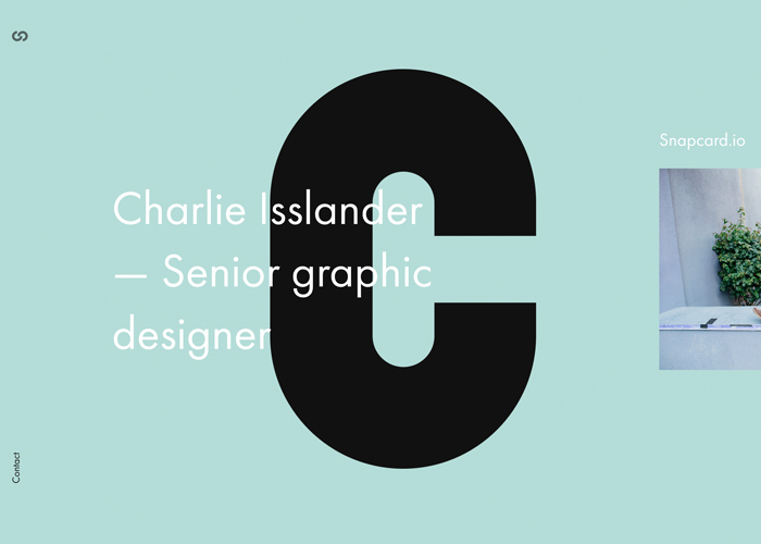 Charlie Isslander - Portfolio