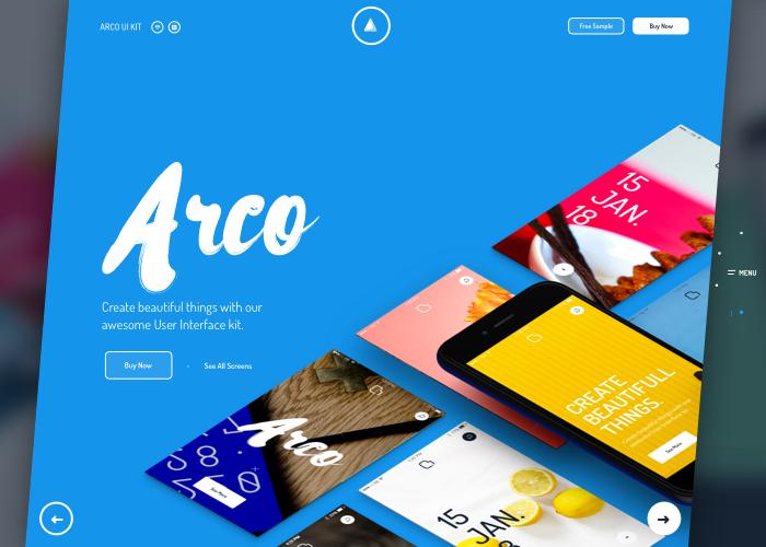 Arco - Mobile UI Kit - Awwwards Nominee
