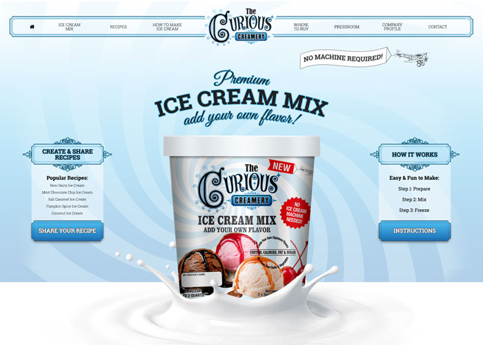The Curious Creamery