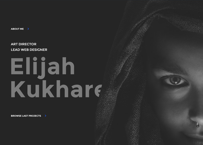 Elijah Kukharev - Web Design & Art Direction