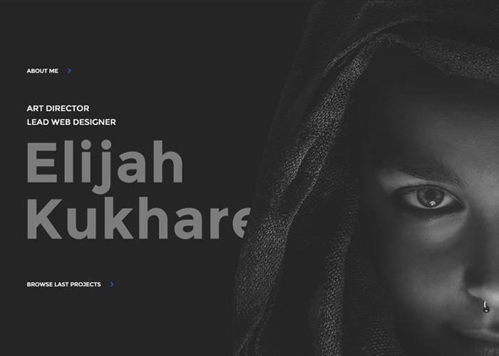 Elijah Kukharev Web Design Art Direction Awwwards Nominee