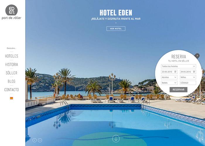 Hoteles Eden Sóller