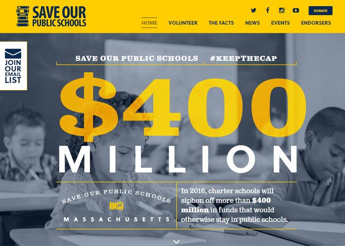 Save Our Public Schools Massachusetts