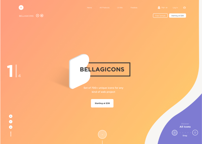 Bellagicons - Huge Icons Set
