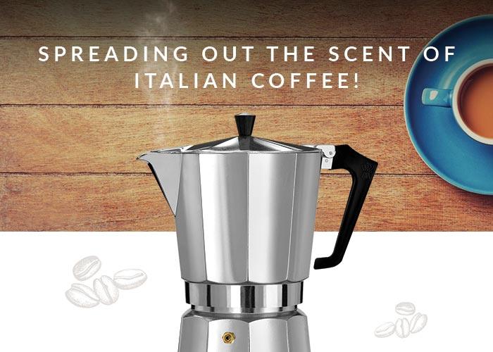 Pezzetti caffettiere