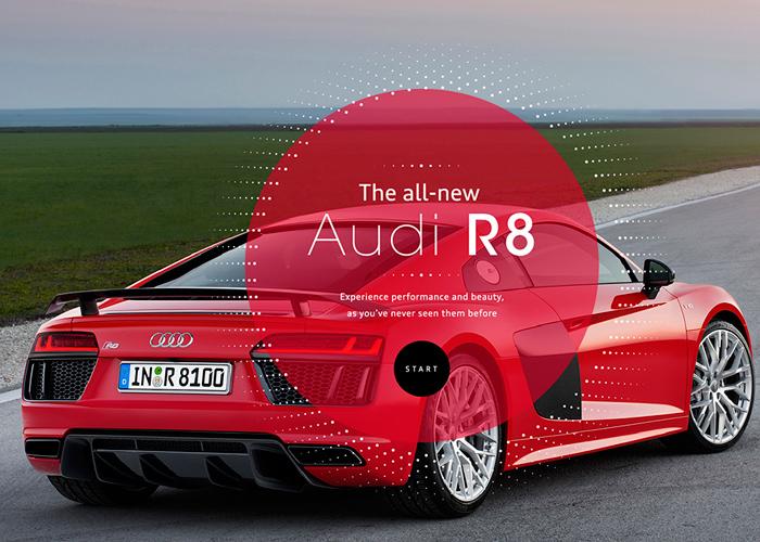 """Audi R8 """"Blink"""""""