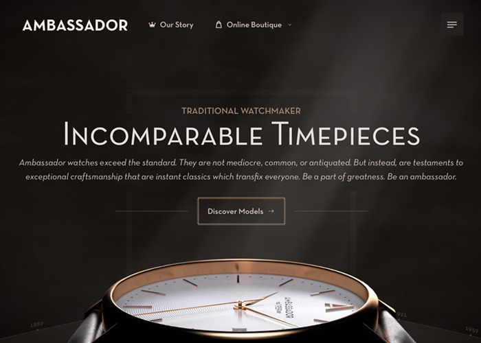 Ambassador Watches - Incomparable Timepieces