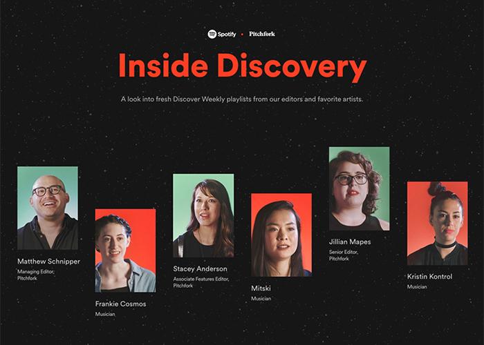Spotify x Pitchfork: Inside Discovery