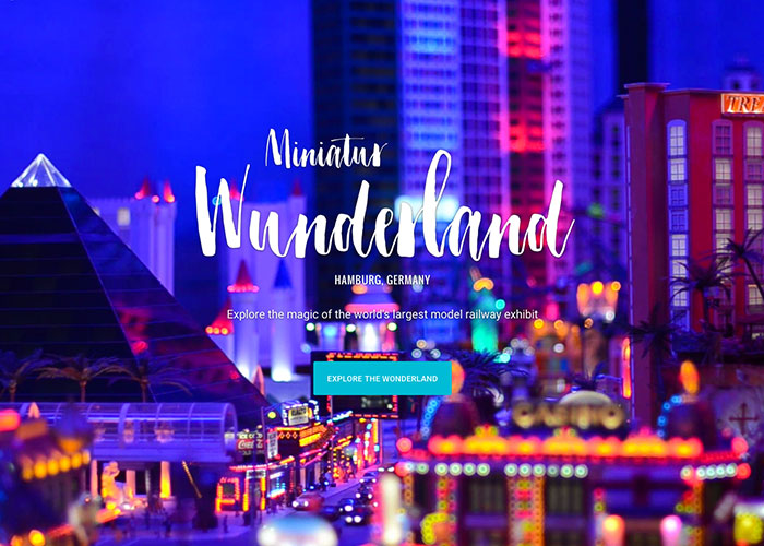 Street View Trek Miniatur Wunderland