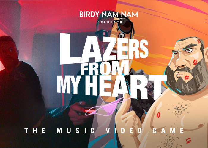 birdy nam nam the music video game awwwards nominee. Black Bedroom Furniture Sets. Home Design Ideas