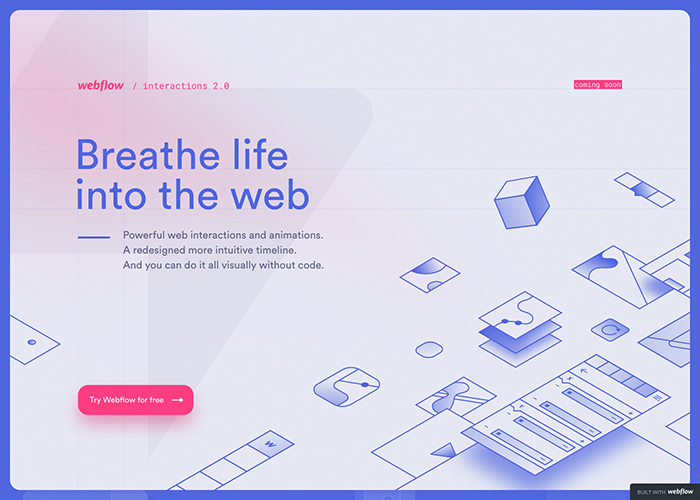 Webflow Interactions 2.0 Teaser