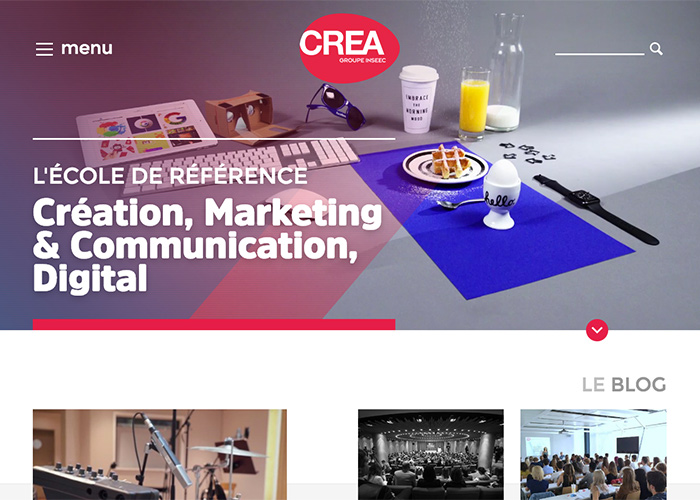 CREA Genève - INSEEC | Learn from experience