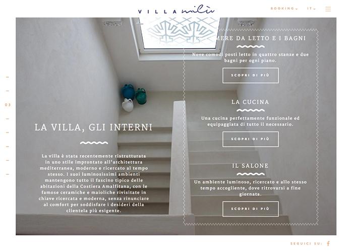 Villa Milù , Amalfi Coast