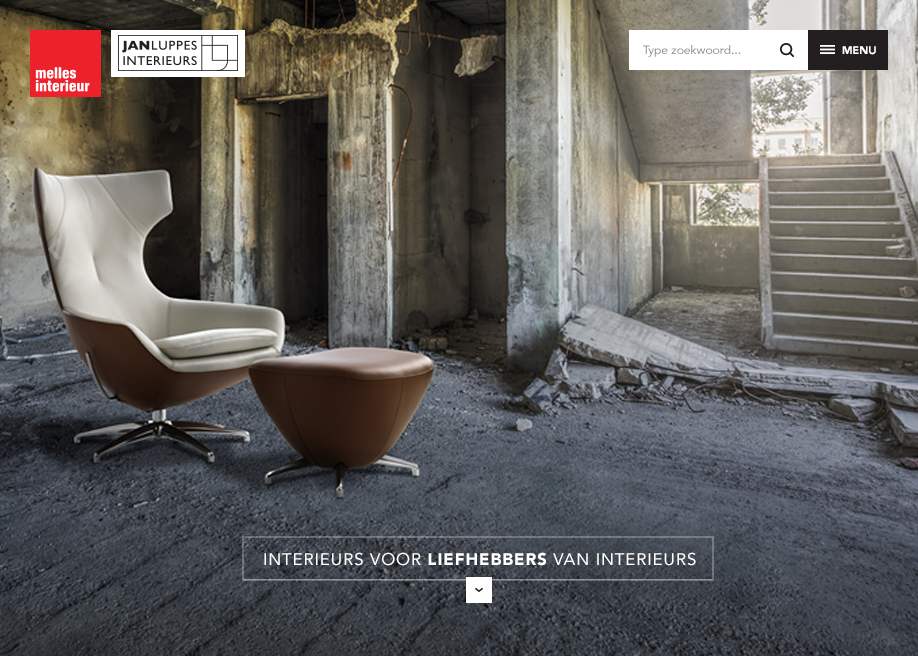 Jan Luppes & Melles interieur - Awwwards Nominee