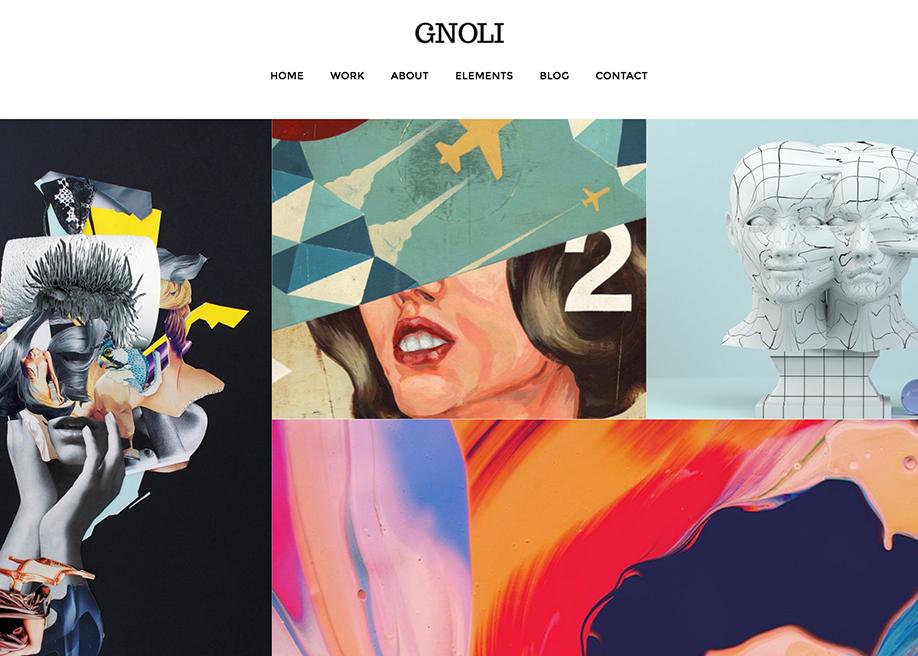 Gnoli - Portfolio Theme