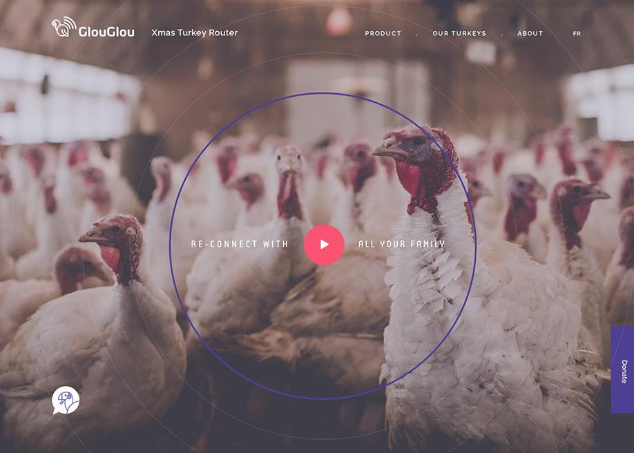 GlouGlou - Xmas Turkey Router