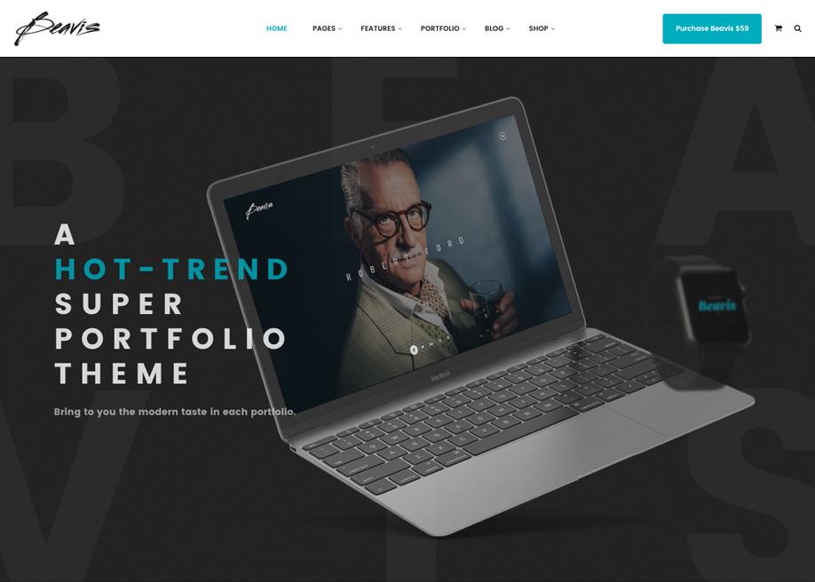 Beavis Portfolio WP Site