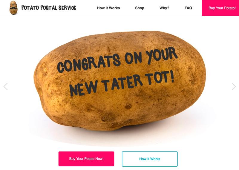 Potato Postal Service