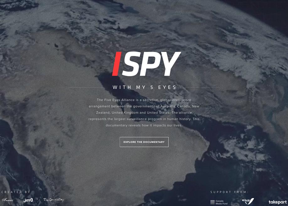 I SPY (With My Five Eyes)